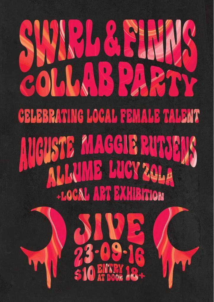 Swirl & FINNs Collab Party - Poster.jpg